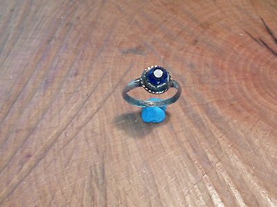 Stunning Medieval/Tudor Ring with Blue Stone-British Detecting Find
