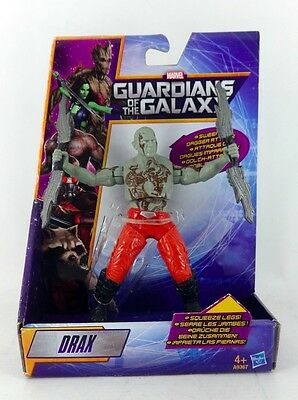MARVEL Guardians of the Galaxy Figure * DRAX * Squeeze legs action * NEW *