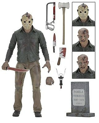 """Friday the 13th - 7"""" Action Figure - Ultimate Part 4 Jason - NECA"""