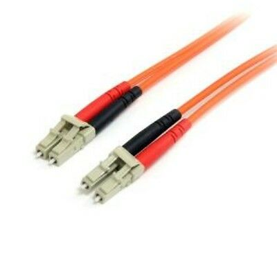 NEW STARTECH FIBLCLC3 3M MULTIMODE FIBER PATCH CABLE LC - LC....b.