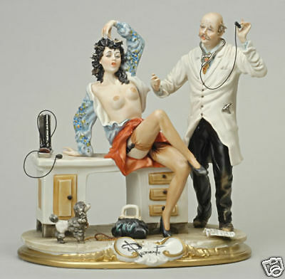 """China Capodimonte """"the Doctor and The Patient"""""""