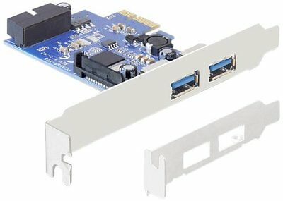 DeLOCK 89315 Internal USB 3.0 - interface cards/adapters (PCIe, USB 3.0, (h9G)