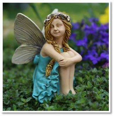 Fairy Garden Fun Fairy Hanna With A Floral Headband Dollhouse Mini 0133