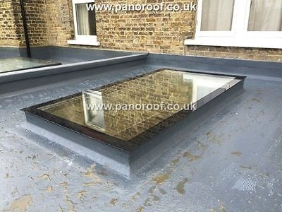 Flat Pitched Roof Skylights Rooflight Multiple Sizes Triple Glazed Self Cleaning