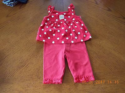 Infant Girls clothes Top 0-3 m and Pants 0-6 M