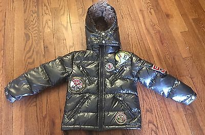 Moncler Children's Medium Jacket Down Jacket With Patches