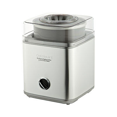Cuisinart Stainless Steel Ice Cream Machine  2 Litre RRP $199.00
