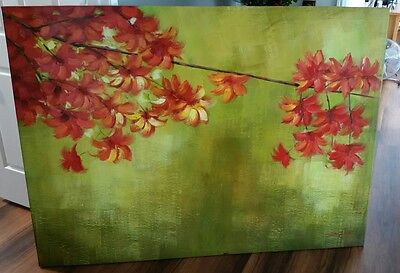 Original painting.  Very large. Stretched canvas on timber frame.