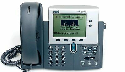 Cisco 7940 Series CP-7940G VoIP PoE Business Phone w/ Handset SIP Firmware
