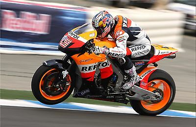 Nicky Hayden - Repsol Honda 2008 - A1/A2/A3/A4 Photo/Poster Print