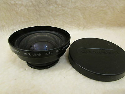 Olympus IS/L converter lens A-28 0.8x. wide angle a28