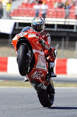 Nicky Hayden - Ducati 2009 - A1/A2/A3/A4 Photo/Poster Print