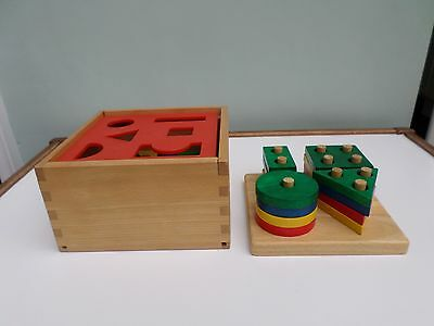 Two Geometric Shape Sorters