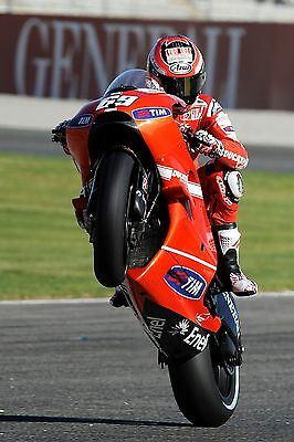 Nicky Hayden - Ducati 2010 - A1/A2/A3/A4 Photo/Poster Print