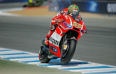 Nicky Hayden - Ducati 2013 - A1/A2/A3/A4 Photo/Poster Print