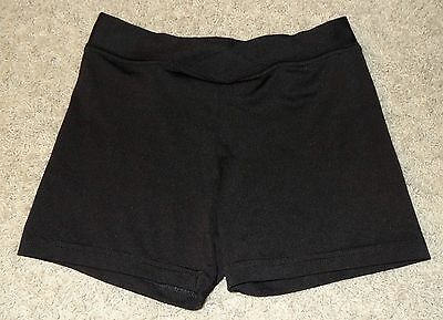 Dance Shorts Booty Shorts Dance Department Black Jazz Child Size Large L - SB