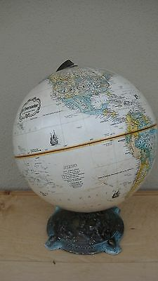 "BEAUTIFUL Brass & 12""inch World Globe/by/Globemaster OLD Globe Read Details !!!!"