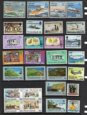 Pitcairn Islands - 67 different stamps, nice colourful range many Mint (CT)