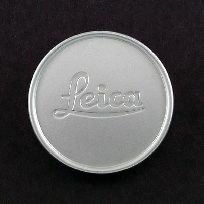 Leica Vintage Genuine 36Mm Chrome Front Lens Cap In Mint Condition!~
