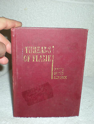 [ Threads of Flame Lyric Poems by Julius Lester Medlock signed 1st edition book