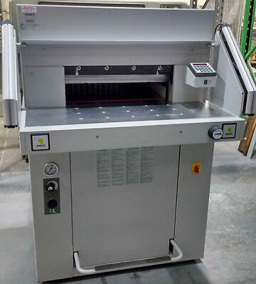Immaculate Hydraulic Paper Guillotine - EBA 551-06 LT made by Ideal in Germany