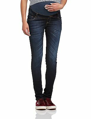 (TG. 42 IT (28W/35L)) Love2Wait - Jeans, Donna, blu (Blue (Dark Wash)), (G3Z)