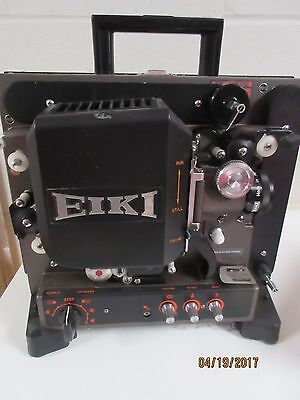 EIKI PROJECTOR, MODEL NT 1 , for 16MM ,   VERY CLEAN,  OWNERS MANUAL