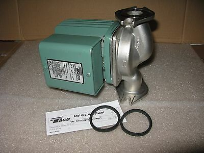 New Taco 0013-Sf3 Stainless Steel Circulator Pump 1/6 Hp