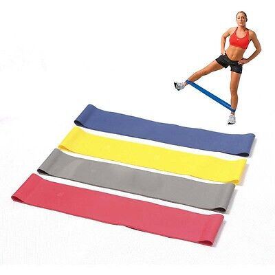 Fitness Tension Resistance Band Exercise Loop Crossfit Strength Weight Training