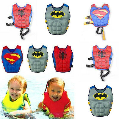 Baby Kids Swimming  Aid Jacket Pool Outfit  Floating Swim Zip Vest Buoyancy