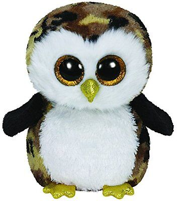 Owliver The Camouflage Owl Ty Beanie Boos  Brand New