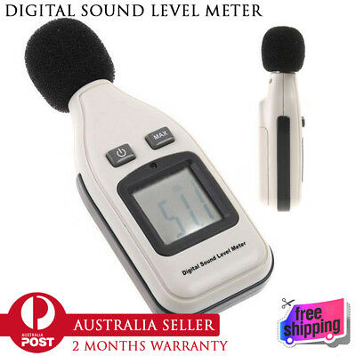 100% New Professional GM1351 Digital Sound Level Meter Decibel Logger 30-130dB