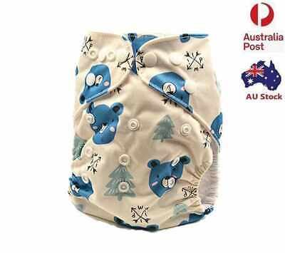New Modern Cloth Nappy Diapers Covers Reusable Washable Cloth Nappies MCN (D8)