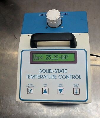 solid state 210w ThermoTek Recirculating Chiller T251P-2 tested rs232