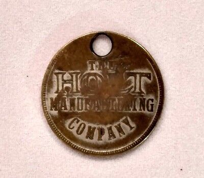 RARE - VINTAGE HOLT MANUFACTURING CO. (Caterpillar Tractor) Employee Badge #1810