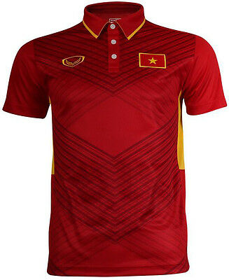 100% Authentic Official Vietnam Football Soccer National Team Jersey Shirt Red