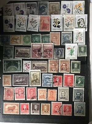 stamps  Argentina  - MNH and Used - Lot 434