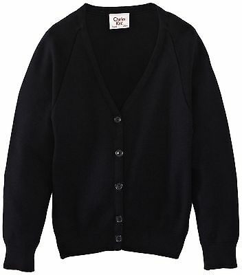 (TG. C40 IN- UK) Charles Kirk Coolflow - Cardigan, unisex, Blu (Navy (l6l)