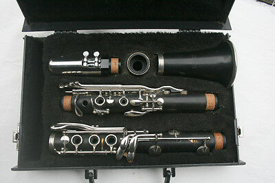 Normandy 4 wood clarinet with case Made in France
