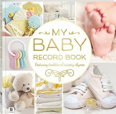 My Baby Record Book:  Baby Memory & Keepsake Journal (Yellow)