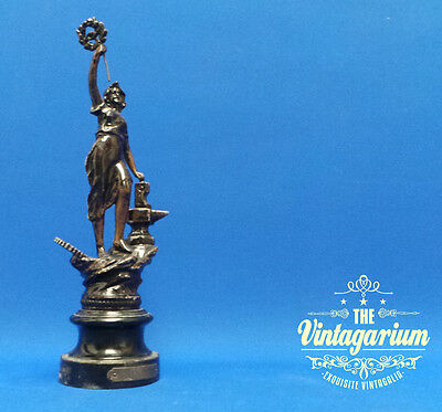 Magnificent Victorian Era French Spelter Figure 'L'Industrie' c.1890