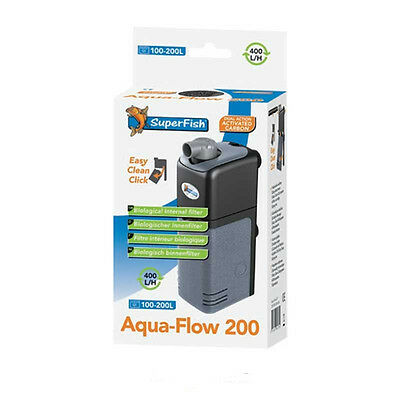 Superfish Aqua Flow 200 Internal Filter Fish Tank Aquarium up to 200L 400L/H