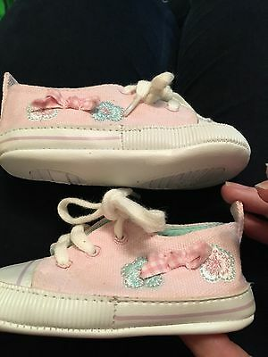Next Baby Girl Trainers Size 2 6-12 Months