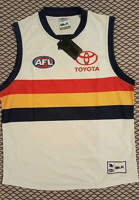 Adelaide Crows White Clash Guernsey / Jumper / Jersey