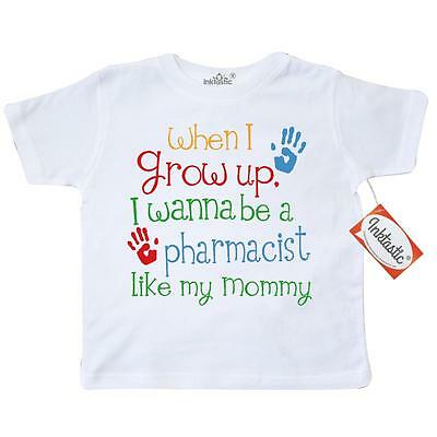 Inktastic Pharmacist Like Mommy Toddler T-Shirt Child�s Kids Baby Gift Daughter