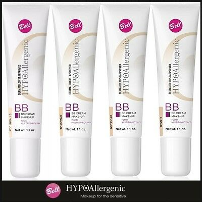 F82 BELL HYPOAllergenic BB Cream Make-Up Multifunctional Fluid