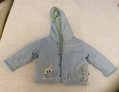 M&S Baby Boy Lightly Padded Jacket Size 3 - 6 Months