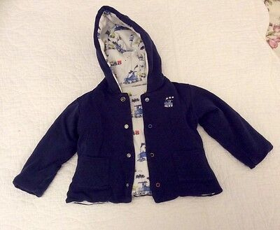 M&S Baby Boy Lightly Padded Jacket 6 - 9 Months
