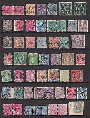 New South Wales stamps on 2 pages