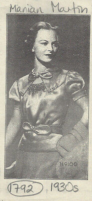 """1930s Vintage Sewing Pattern B34"""" BLOUSE (1792) By Marian Martin"""